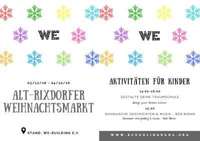 Alt-Rixdorfer Weihnachtsmarkt. Aktvitäten für Kinder. WeBuil...
