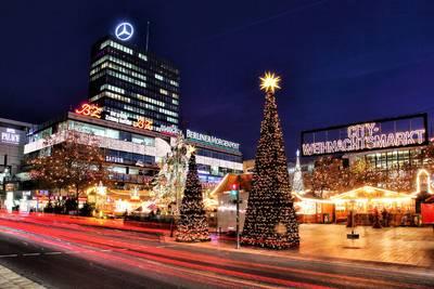 34. Weihnachtsmarkt an der Kaiser-Wilhelm-Gedächtnis-Kirche