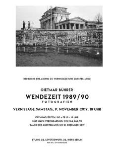 Dietmar Bührer: Wendezeit 1989/90. Fotografien