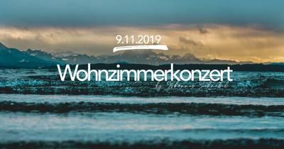 Wohnzimmerkonzert mit Johannes Schnabel in Konzert LIVE