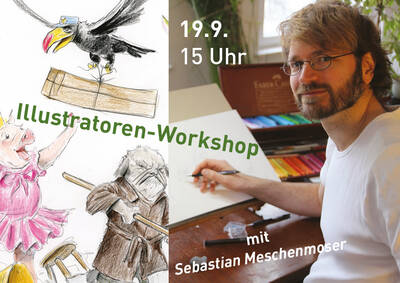 Bilderbuchkünstler*innen-Workshop
