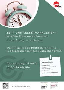 """Workshop """"Zeit- und Selbstmanagement – Wie Sie Ziele er..."""