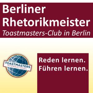 Regelmäßiger Clubabend der Berliner Rhetorikmeister - Erlern...