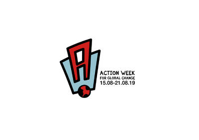 Logo der Action Week for Global Change vom 15.08 - 22.08.