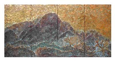 Ying-Tung Tseng: Goldener Jadeberg. 2019