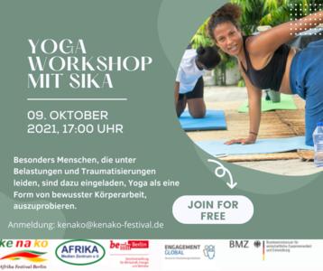 Decolonize Yoga - Yoga Workshop mit Sika