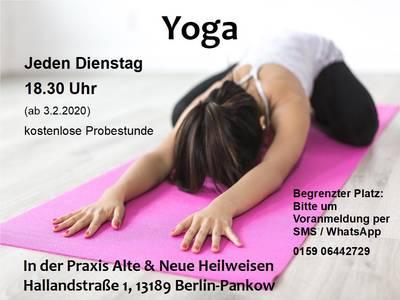 Yoga - Kostenlose Probestunde