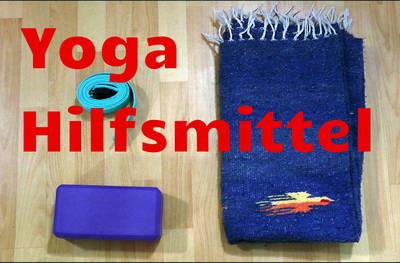 Yoga Hilfsmittel Video:  Vereinfachen, vertiefen, unterstütz...
