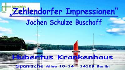 "Fotos ""Zehlendorfer Impressionen"" auf Leinwand Hub..."